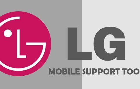 Mobile support tool Instalación LG