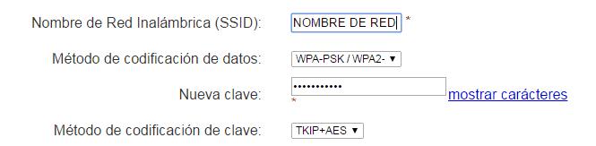 nombre de red wifi
