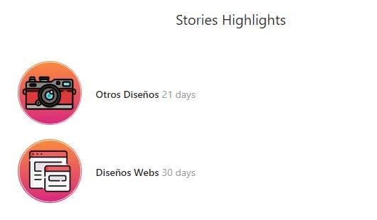 Descargar historias destacadas